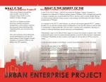 Urban Enterprise Project